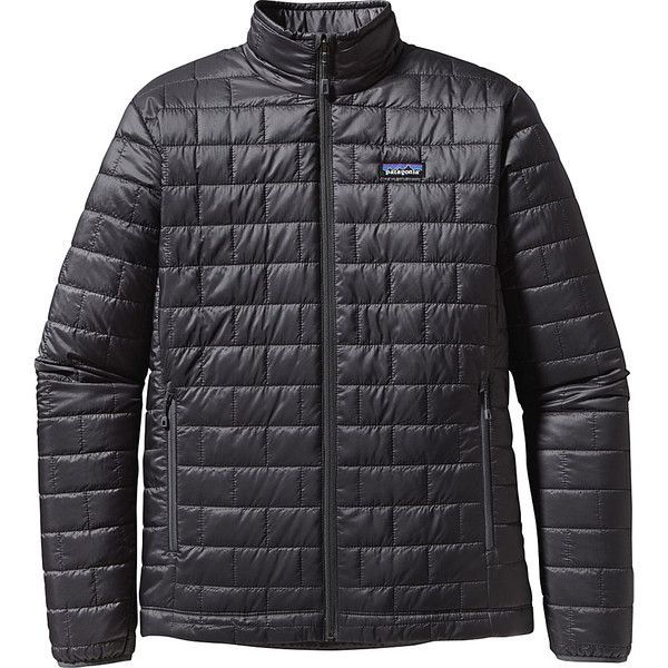 Patagonia Mens Nano Puff Jacket - S - Forge Grey - Men's Outerwear ($199) ❤ liked on Polyvore featuring men's fashion, men's clothing, men's outerwear, men's jackets, grey, mens zip jacket, mens faux leather jacket, patagonia mens jacket, mens puffer jacket and mens lightweight puffer jacket