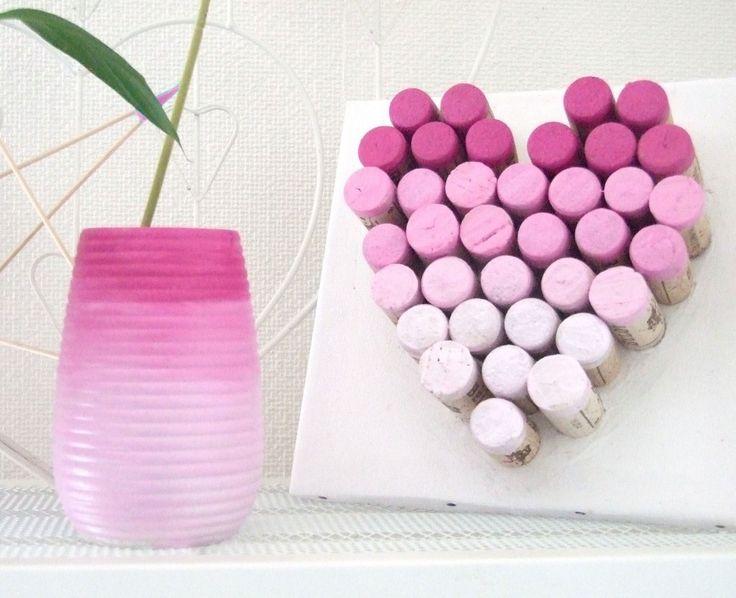 Recyclage bouchons de liège avec la peinture décorative tous supports Luminoso : http://blog.kubbicolor.com/diy-recyclage-bouchons-de-liege/