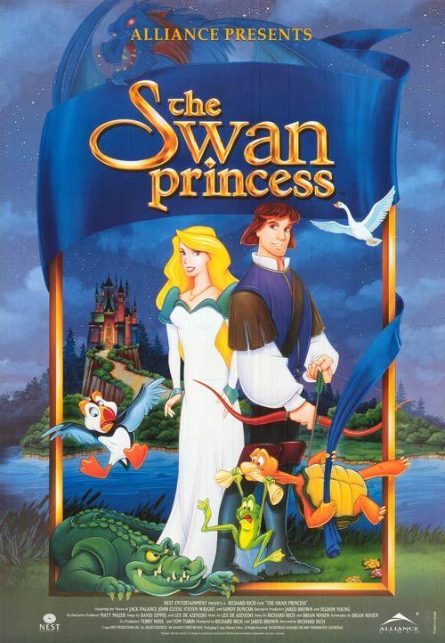 The swan princess family cartoon adventure available on