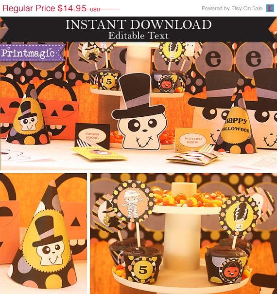 45 best halloween party ideas images on pinterest male witch do it yourself halloween printables just edit the text to suit your party and print solutioingenieria Gallery