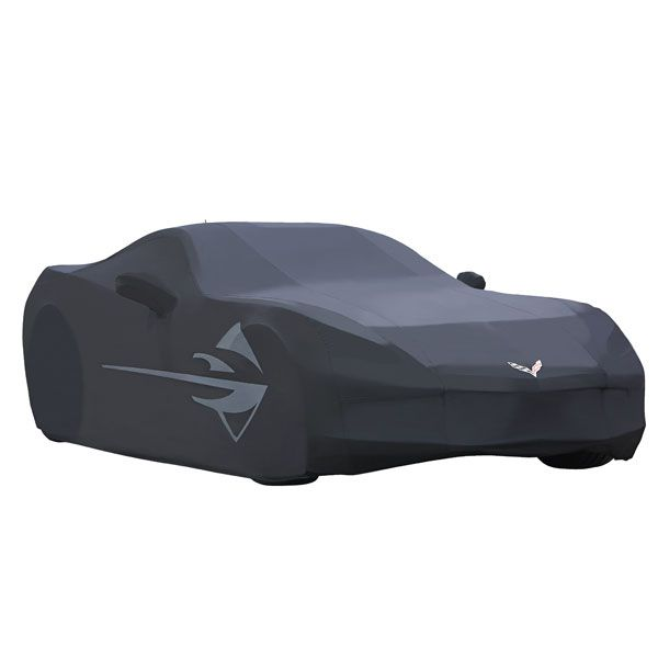2016 #Corvette #Stingray Car Cover, Outdoor #Stingray Logo, Black: These Vehicle Covers help protect your finish, and feature Corvette-specific logos. The interior Dust Covers, designed for interior storage, shield the surface of your Corvette from dust and dirt. Each cover includes a duffle-style storage bag, which can also be used to stash miscellaneous items.