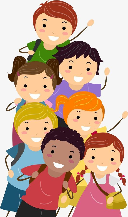 Image result for clipart group of children