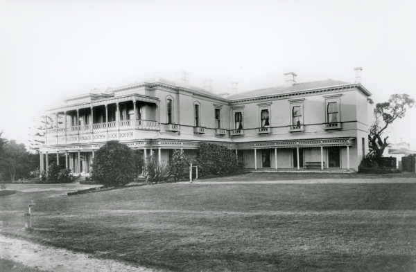 CORINELLA - located in St Kilda, dated to 1859 (altered a number of times) - DEMOLISHED