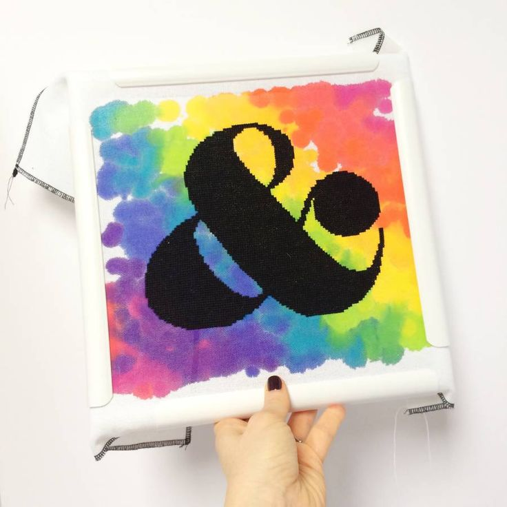 Ampersand Cross Stitch Kit