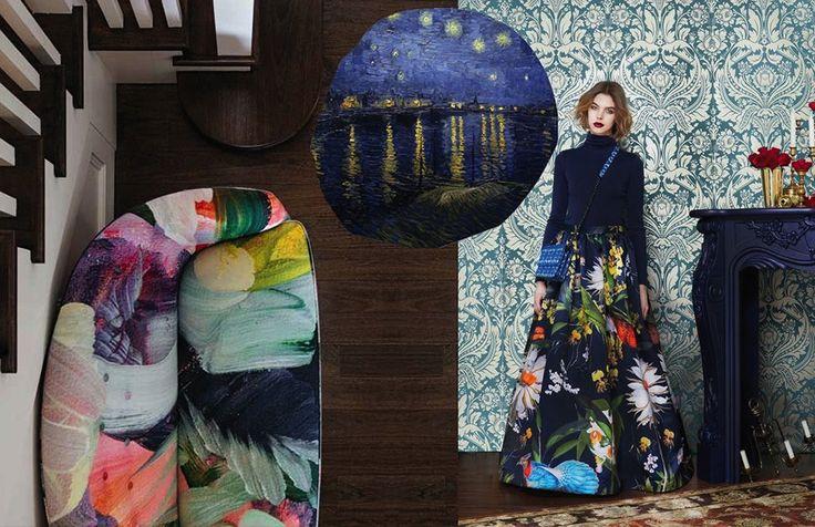 Exotica: wilde prints voor de lente van 2016 #trends #botanical #flowers #prints #patterns #SS16 #spring #interior