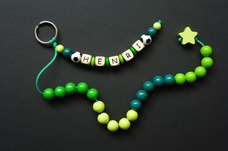 """Rechenhilfen - Schulanfang ♥ Rechenkette """"Fußball"""" /302 - ein Designerstück von…"""