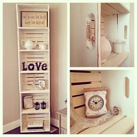 Cute Ideas With Crates To Surprise Lover