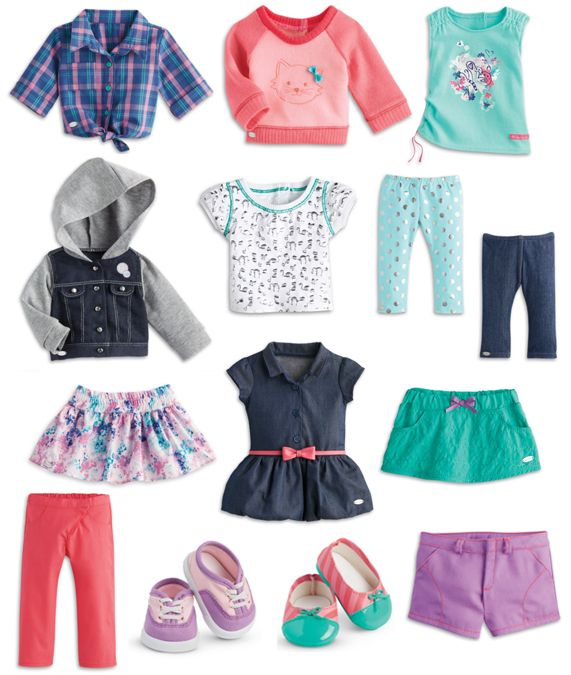 Mix and Match American Girl Clothes