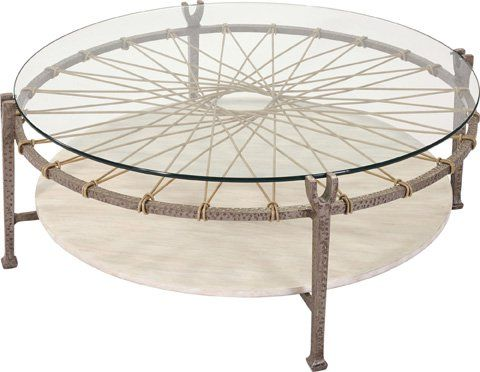 Ernest Hemingway Outdoor Round Cocktail Table Main Image