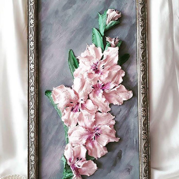 Отличная картина получилась у  Натальи (@nata.chikareva), серый и розовый - это любимое сочетание Натальи. Серый цвет образует гармонические сочетания цветов со всеми оттенками розового начиная от бледного тона «пепел розы» и заканчивая ярким розово-пурпурным цветом фуксии. Очень трудно хвалить того, кто столь заслуживает похвалы!  ---------------------------------------- Материал - декоративная штукатурка для скульптурной живописи - @sculpture_painting Чтобы попасть в ленту проекта пи...