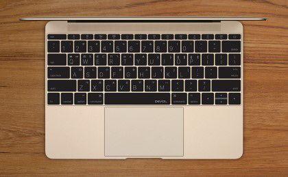New MacBook 12-inch keyboard skin (Korea) D-Type