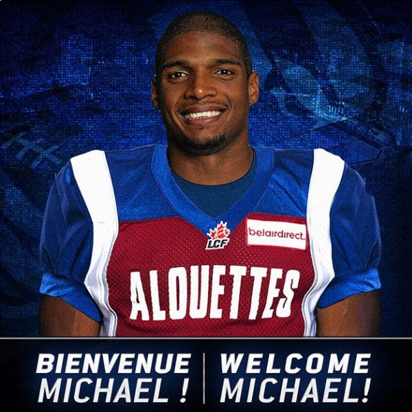 Michael Sam to Play in Canadian Football League, Signs Deal With Montreal Alouettes Team—Get the Details!  Michael Sam, Instagram