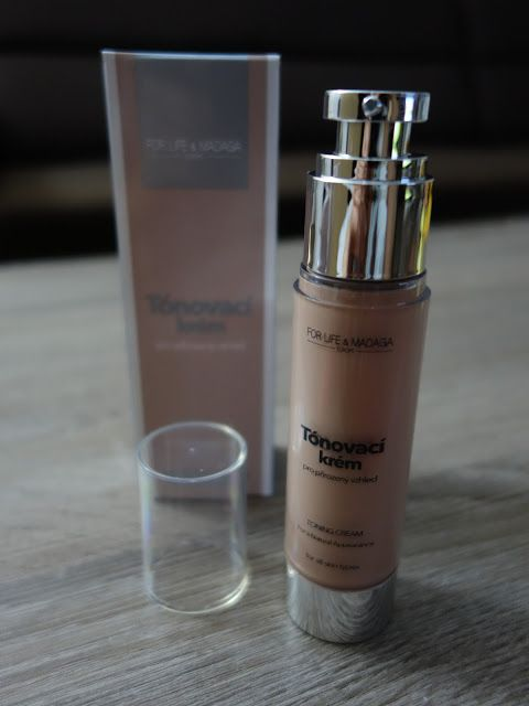 All my cosmetics: Tónovací krém pro přirozený vzhled pleti