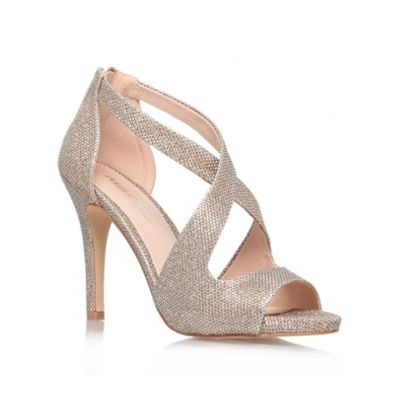 Miss KG Shae 'Gold' Court Shoe- | Debenhams