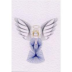Stitching Cards Angel