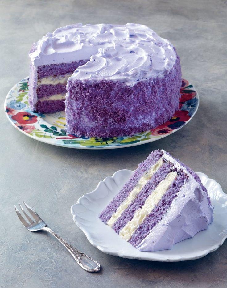 Ube makapuno cake (purple yam + sweet coconut cake) | 7000 Islands cookbook
