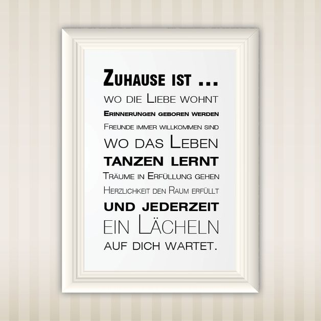 die besten 25 neues zuhause zitate ideen auf pinterest. Black Bedroom Furniture Sets. Home Design Ideas