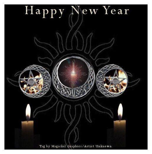 goth Happy New Year | VioletteKitty's House of Tarot ...