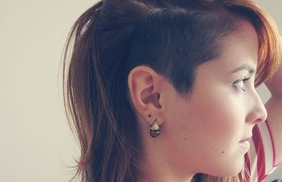 Cabelo raspado na lateral   Undercut feminino [52 fotos] « Dona Giraffa                                                                                                                                                     Mais