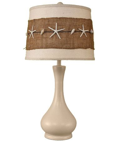 Another great find on #zulily! Starfish Table Lamp by Coast Lamp Mfg…