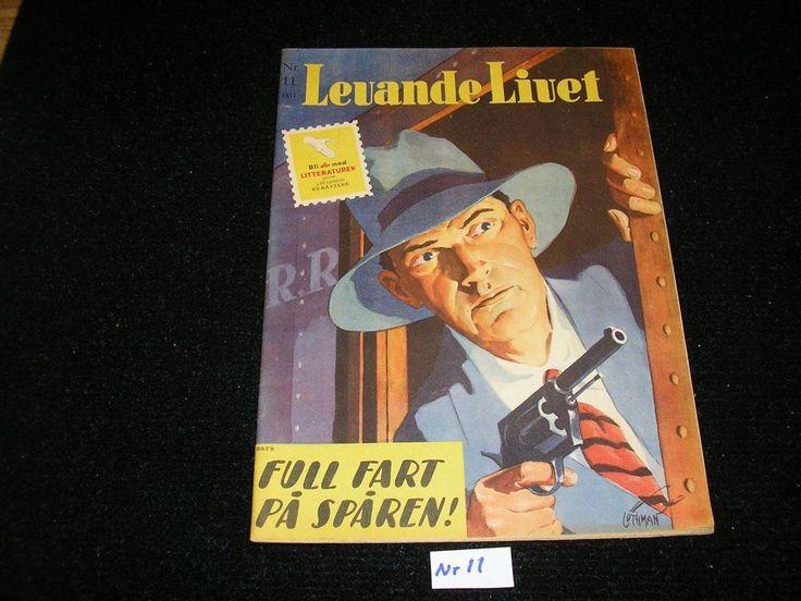 Levande Livet nr 11 år 1951. Toppex Framsida av Allan Löthman.