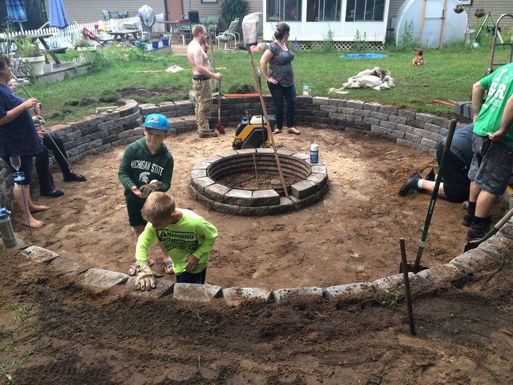 The 25 best sunken fire pits ideas on pinterest Sunken fire pit ideas