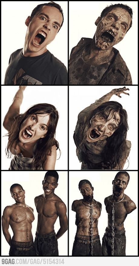 The Walking Dead: Zombie Transformations