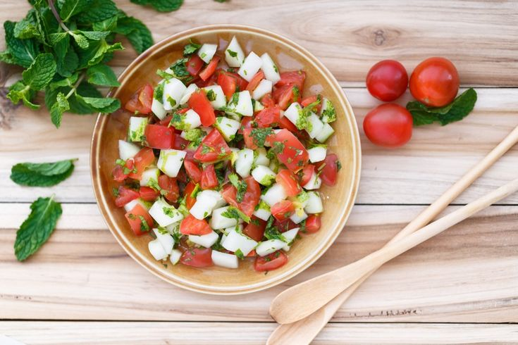 TOMATO and CUCUMBER SALAD | Robert Irvine