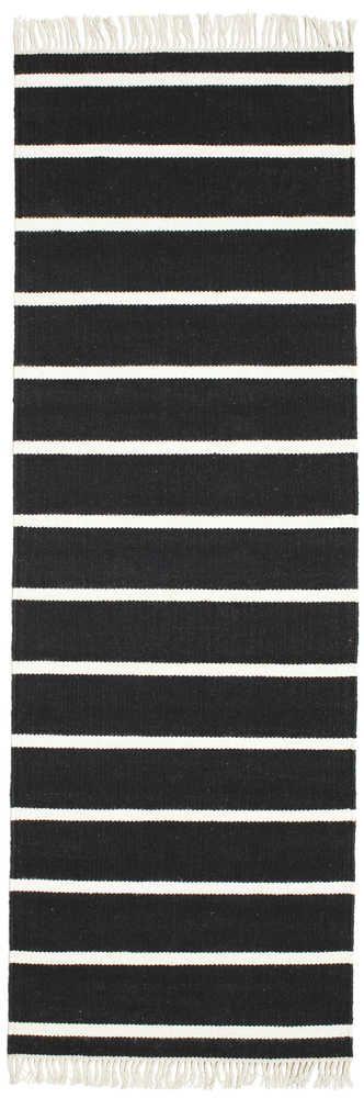 Dorri Stripe - Schwarz / Weiß Teppich CVD5206
