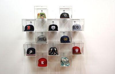 modern hat storage option                                                       …