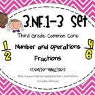 This set combines my best selling 3rd grade common core NF math tasks, exit tickets, I can statements and formative assessment. This set covers:     ...