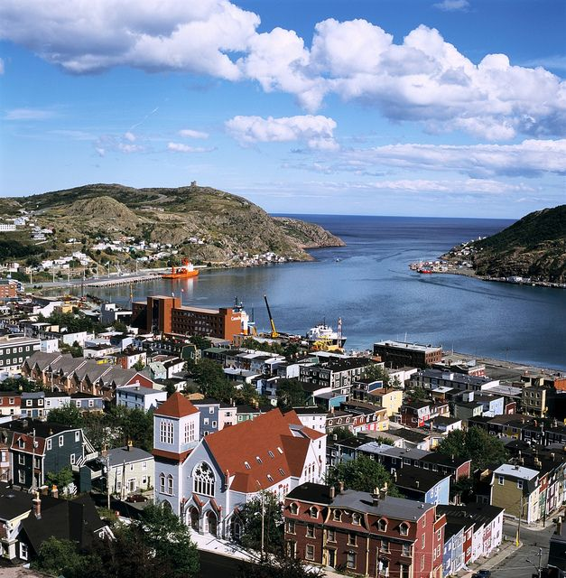 St John's, Newfoundland - on our travel wish list