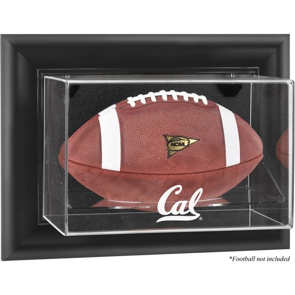 California Bears Fanatics Authentic Black Framed Wall-Mountable Football Display Case - $99.99