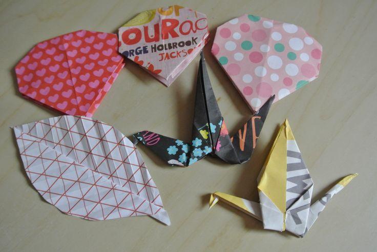 Origami snail foto 2