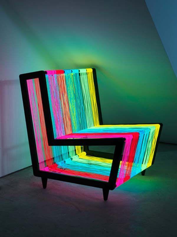 Creative Idea Of Light Colorful Chair Furniture Idea