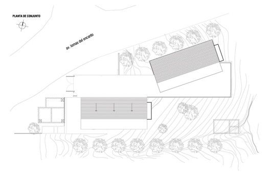 4 LCC Houses,Roof Plan