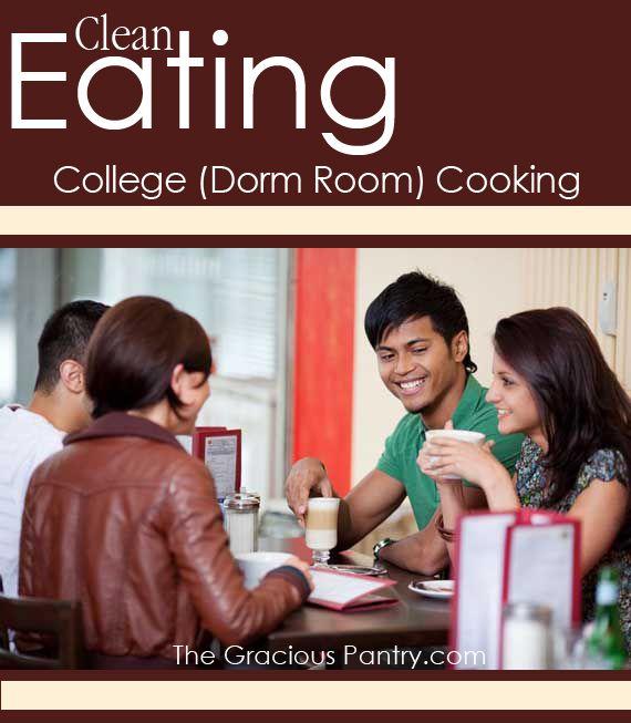 Clean Eating College (Dorm Room) Cooking. @Lauren Davison Davison Buck