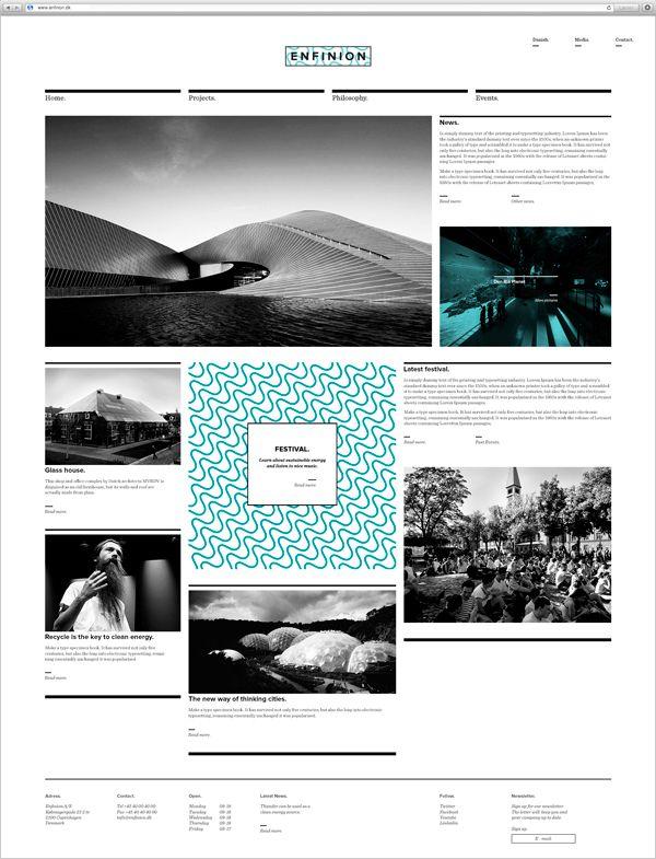 Corporate identity – Enfinion by Hans Pelle Jart, via Behance