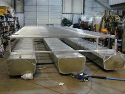 Trailerable Pontoon Houseboat | Building a trailerable pontoon houseboat.