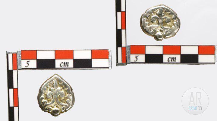 Conquest era grave of Tarpa - embossed belt plate - Szime 3D AR