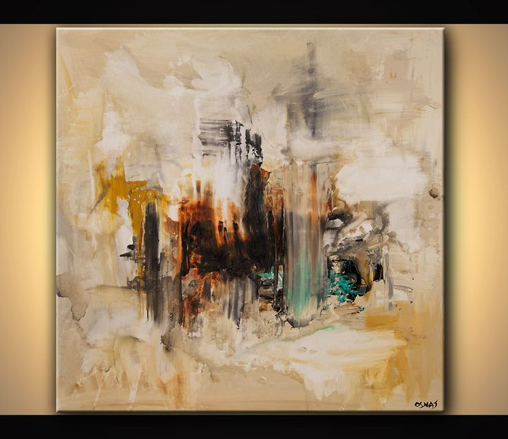 Original abstract art paintings by Osnat - original abstract painting contemporary art