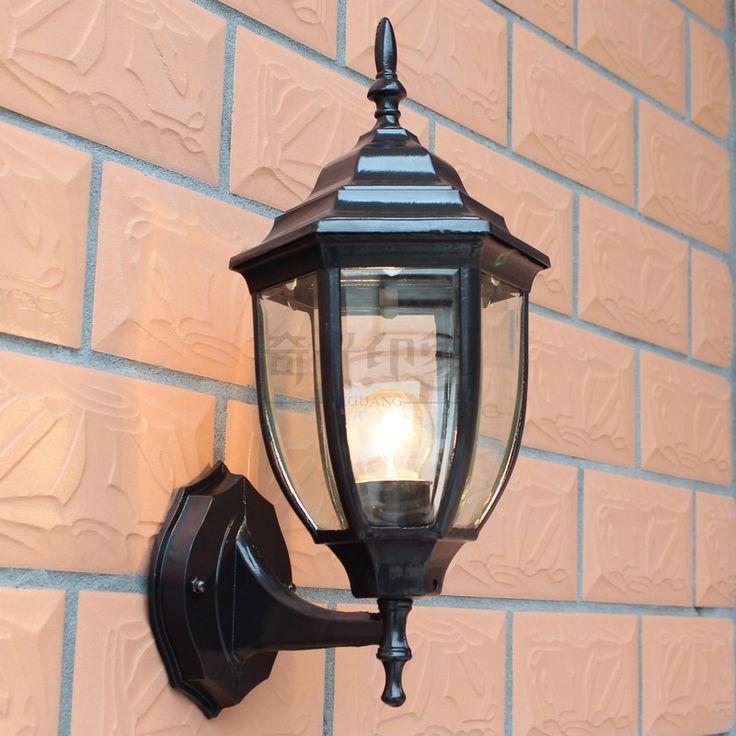Ferr 2 шт. на открытом воздухе лампа стена лампа на открытом воздухе балкон водонепроницаемый освещение место стена лёгкие