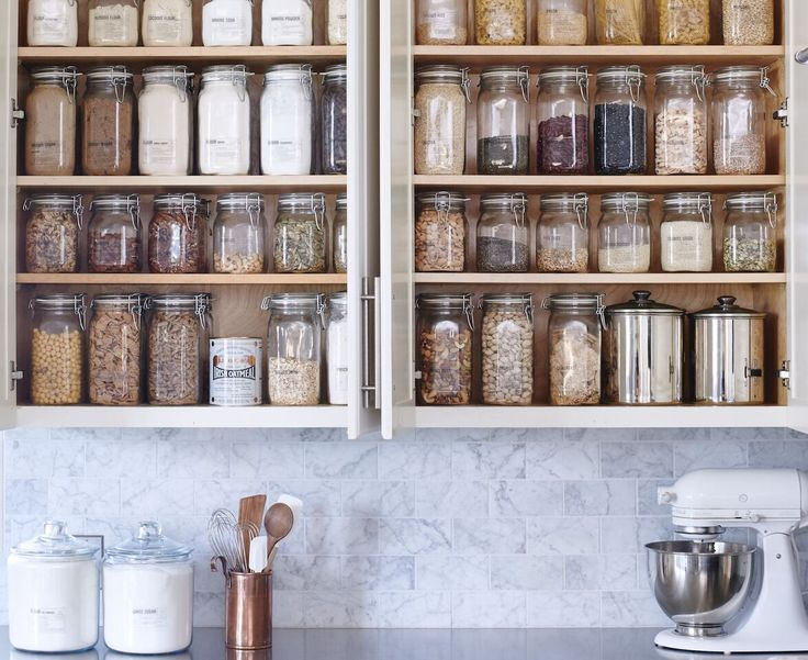 DIY Core Pantry: buy an organizing kit for your kitchen!