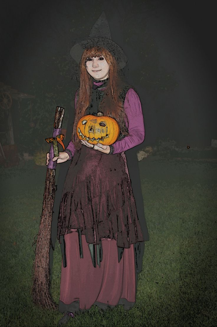 Halloween costume -witch