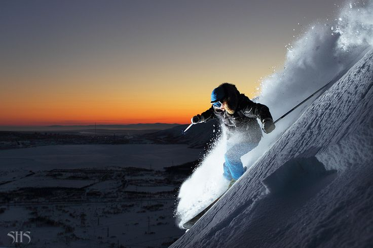 Skiing, Serge Shestikhin