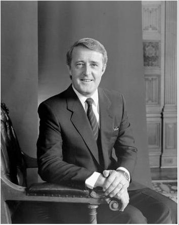 Martin Brian Mulroney was the 18th Prime Minister of Canada from Sept. 17, 1984, to June 25, 1993, and he was leader of the Progressive Conservative Party of Canada from 1983 to 1993. His tenure as Prime Minister was marked by the introduction of the Canada-U.S. Free Trade Agreement, the Goods and Services Tax, and the rejection of constitutional reforms - the Meech Lake Accord and the Charlottetown Accord.