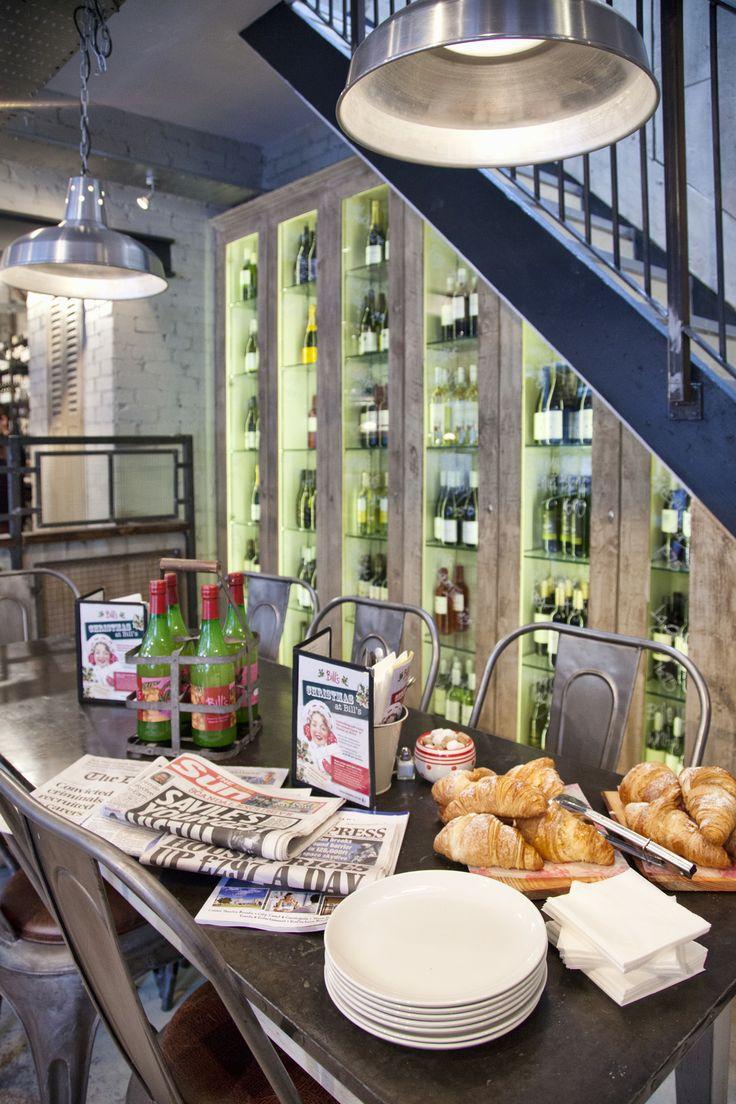 wine display under the stairs. #interior