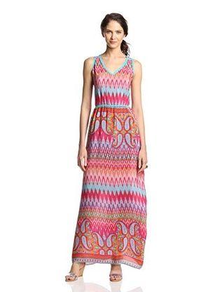 55% OFF Tolani Women's Norah Maxi Dress (Flames)