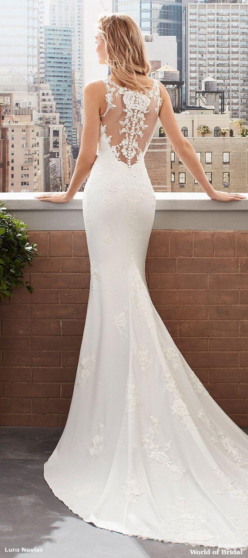 Luna Novias 2020 Bridal Collection Wedding Dresses Designer Wedding Dresses 2020 Wedding Dresses [ 1501 x 670 Pixel ]