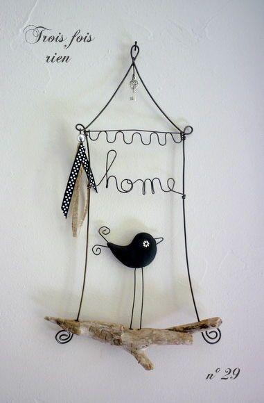 Bird - wire art